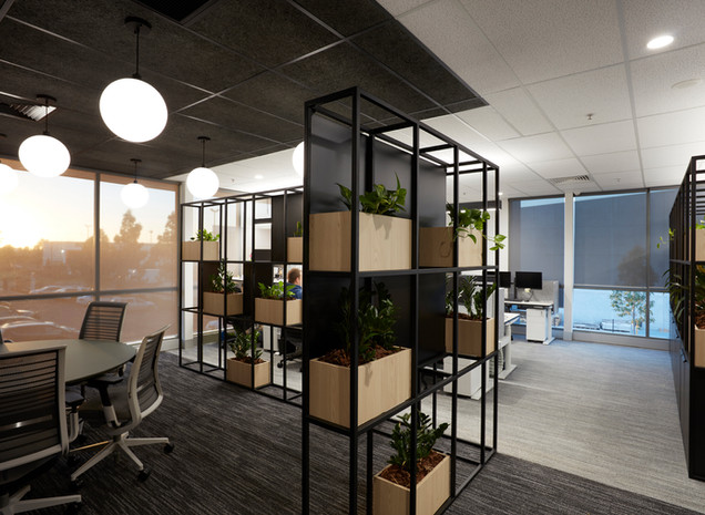 Planter + Whiteboard screens