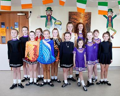 St Oliver's Mc Gee Dancers Group Photo.j