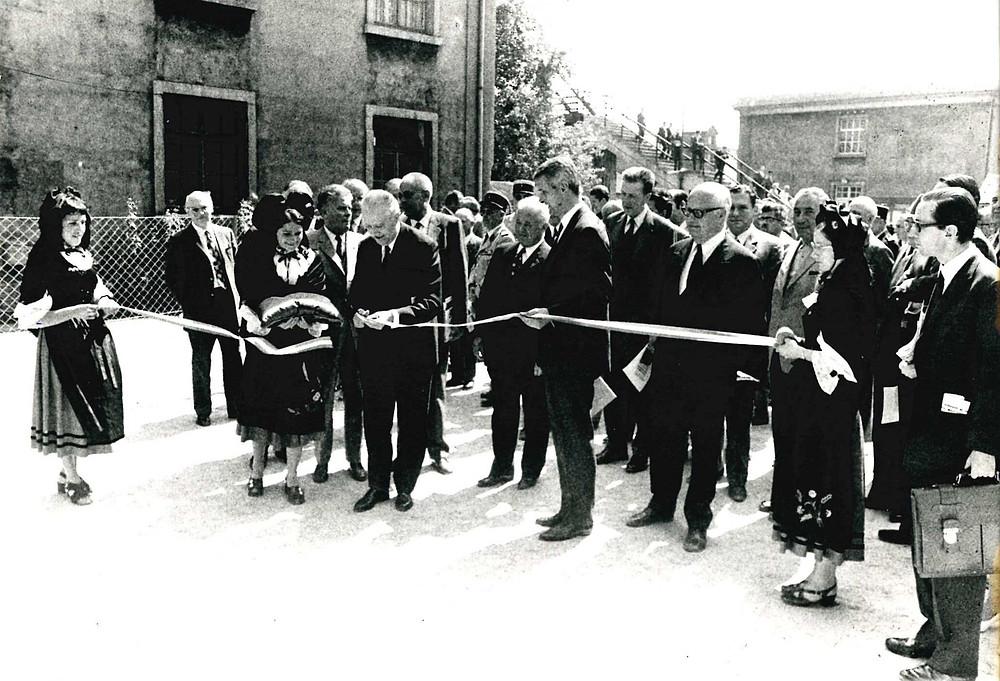 Inauguration du Musée Français du Chemin de Fer  1971