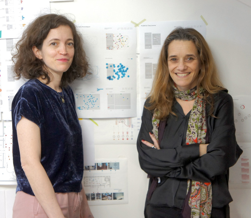 Marie-Laure Even Moreau et Macarena Balcells