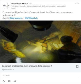 Post Linkedin FFCR