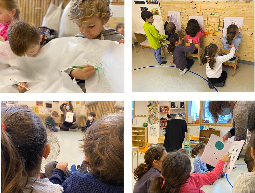 Médiation culturelle - atelier enfant