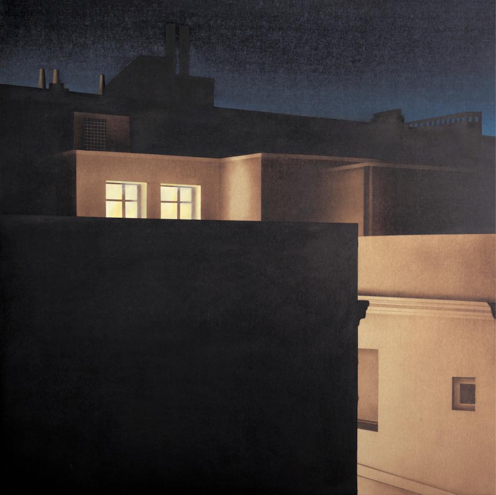 Javier Riaño, La Gasca III, 2015, huile sur toile / tous droits réservés