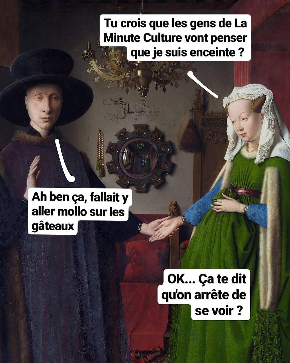 Epoux Arnolfi - La Minute Culture