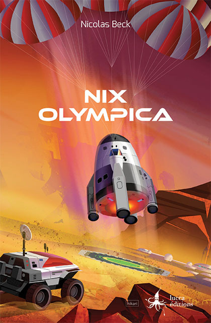 Couverture Nix Olympica Nicolas Beck