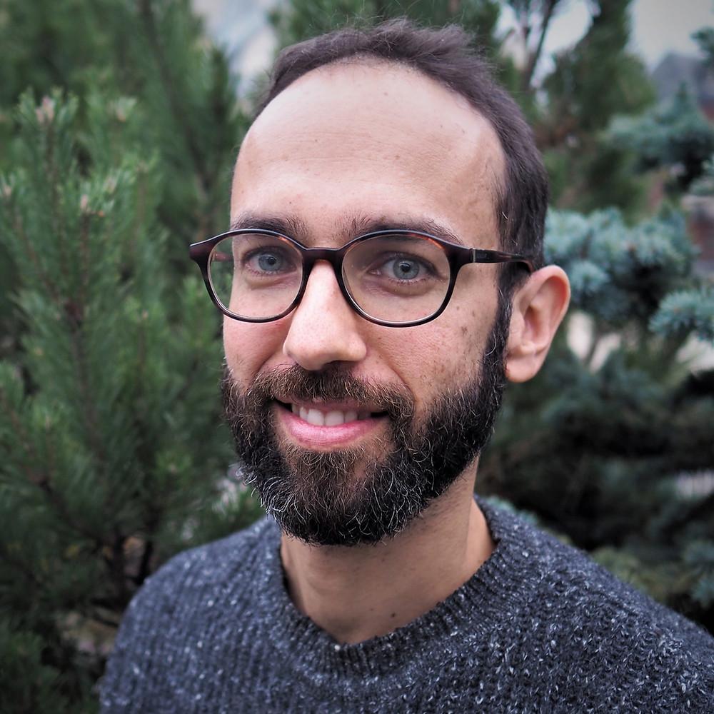 Portrait Julien Daillère - crédit photo Bertrand Boullard