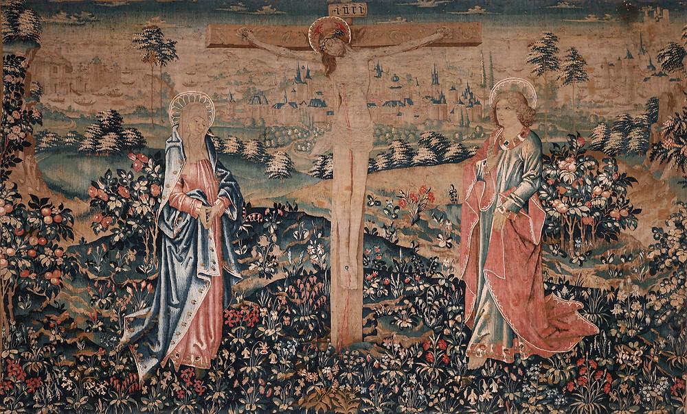 tapisserie de la Crucifixion au château de Langeais