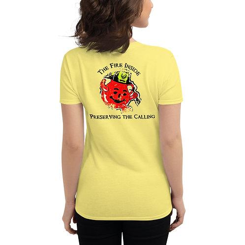 Anvil 880 Women's Preserving the Calling T-Shirt (Black Font)