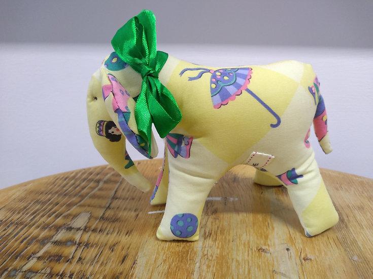 Handmade Elephant approx 14cms Tall