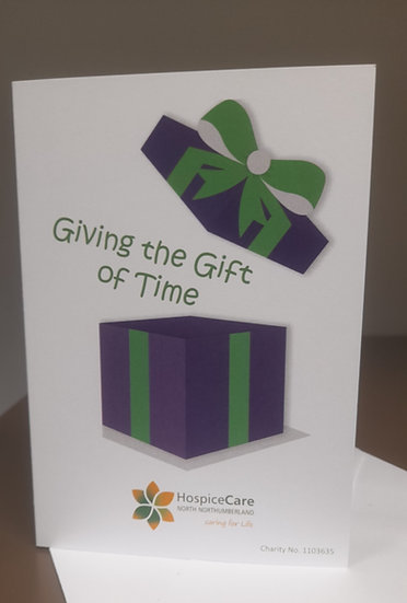 Gift of Time £25.00