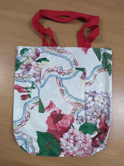 HandmadeCotton Shopping Bag 36cms x 3 cms