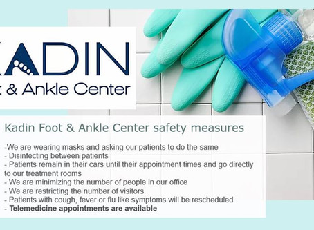 Kadin Foot & Ankle Safety Measures