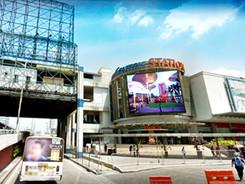 Eton Centris  Location: Quezon City LED Model: P20DC LED Disply Size: 8.96m x 7.68m LED Cabinet Size: 1280mm x 960mm Pitch: 20mm