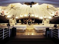 Greenbelt Church  Location: Ayala, Makati City LED Model: K3 LED Disply Size: 2.25m x 1.5m LED Cabinet Size: 750mm x 750mm Pitch: 3