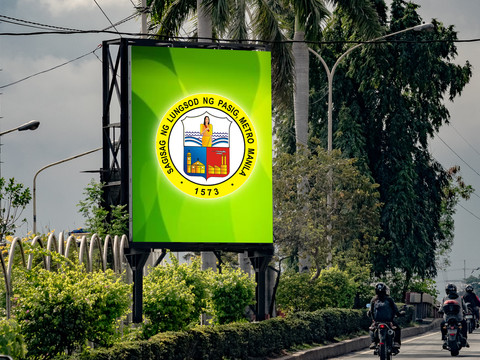Pasig City Hall   Location: Pasig City LED Model: S10 LED Disply Size: 5.12m x 3.078m  LED Cabinet Size: 1024mm x 768mm Pitch: 10