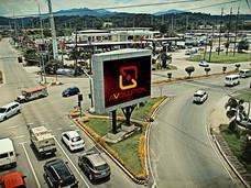 PLDT Subictel (Amires)  Location: Subic, Zambales LED Model: P106C LED Disply Size: 6.4m x 3.84m LED Cabinet Size: 1280mm x 1280mm Pitch: 16mm
