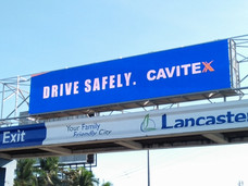 Cavitex Infrastracture Corp.  Location: Cavite City LED Model: S10 LED Disply Size: 10.24m x 2.048m  LED Cabinet Size: 1024mm x 1024mm Pitch: 10mm