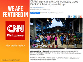 We are Featured in CNN Philippines!
