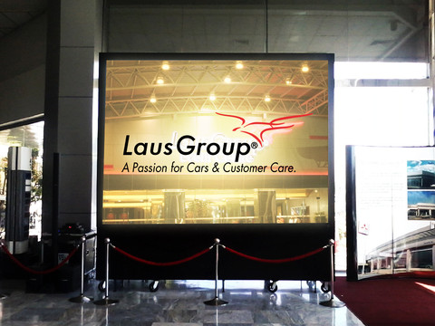 LausGroup of Companies  Location: Pampanga LED Model: A3 LED Disply: Size3.5m x 2.5m  LED Cabinet Size: 500mm x 500mm  Pitch: 3