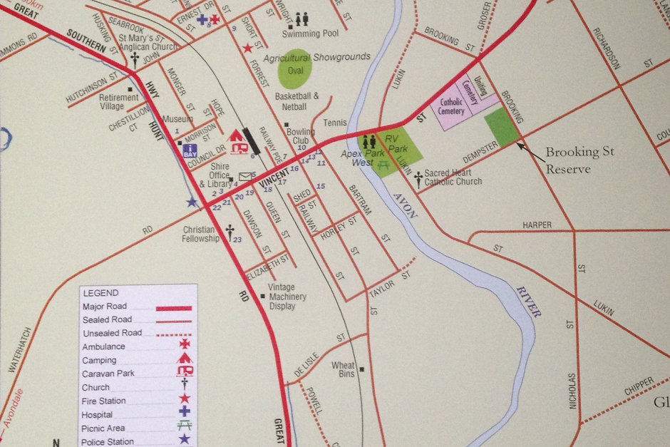 Beverley Town Walk Map.JPG