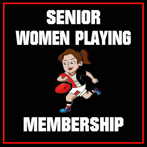 Playing Member - Senior Women's AFL