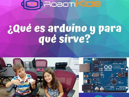 ¿Qué es Arduino? ¿Qué podemos hacer con Arduino?