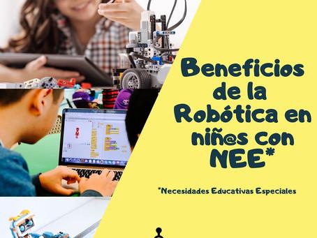 Beneficios de la Robótica en niñ@s con Necesidades Educativas Especiales
