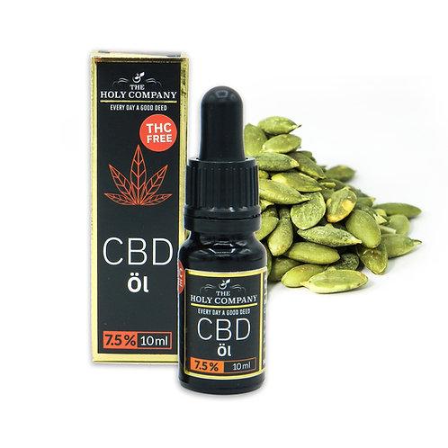 7,5% CBD Kürbiskern Öl  / THC Free