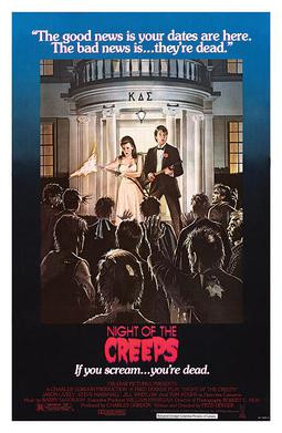 Night of the Creeps horror movie cover