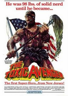 Toxic Avenger Horror movie cover