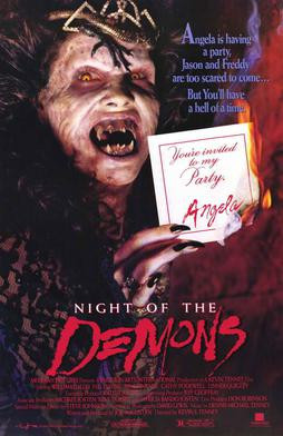 Night of the Demons horror movie cover
