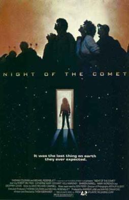 Night of the Comet Horror Movie Cover