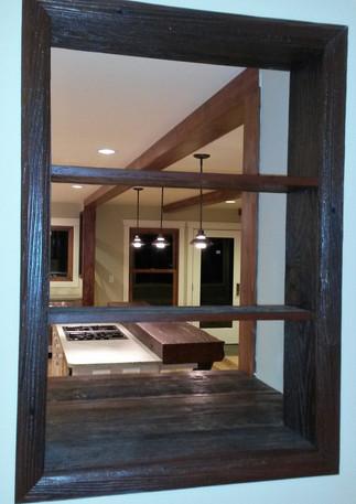 Reclaimed Window Shelves