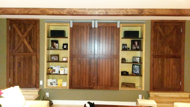 Custom Built Barn Doors