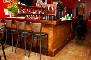 Vintage Cocktail Lounge Reclaimed Bar