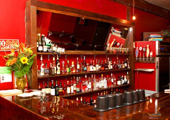 Reclaimed Back Bar