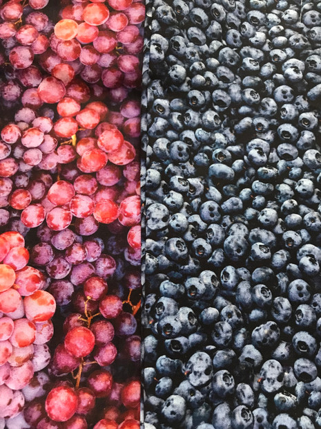 Grapes/Blueberries