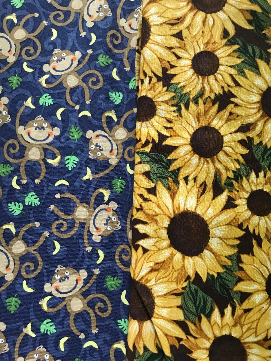 Monkeys/Sunflowers