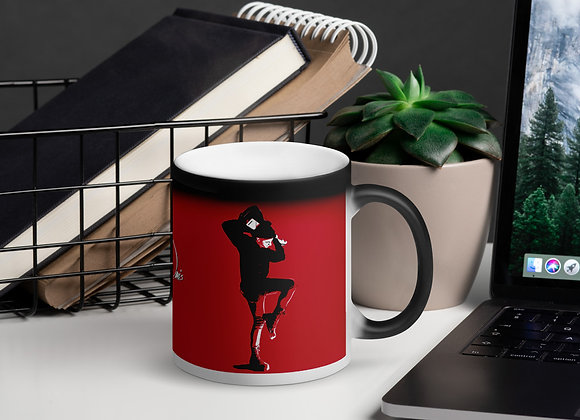 Natt Davis Magic Mug - Matte Red