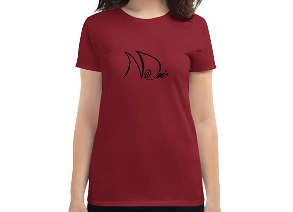 Women's Fashion Fit t-shirt - Front & back design