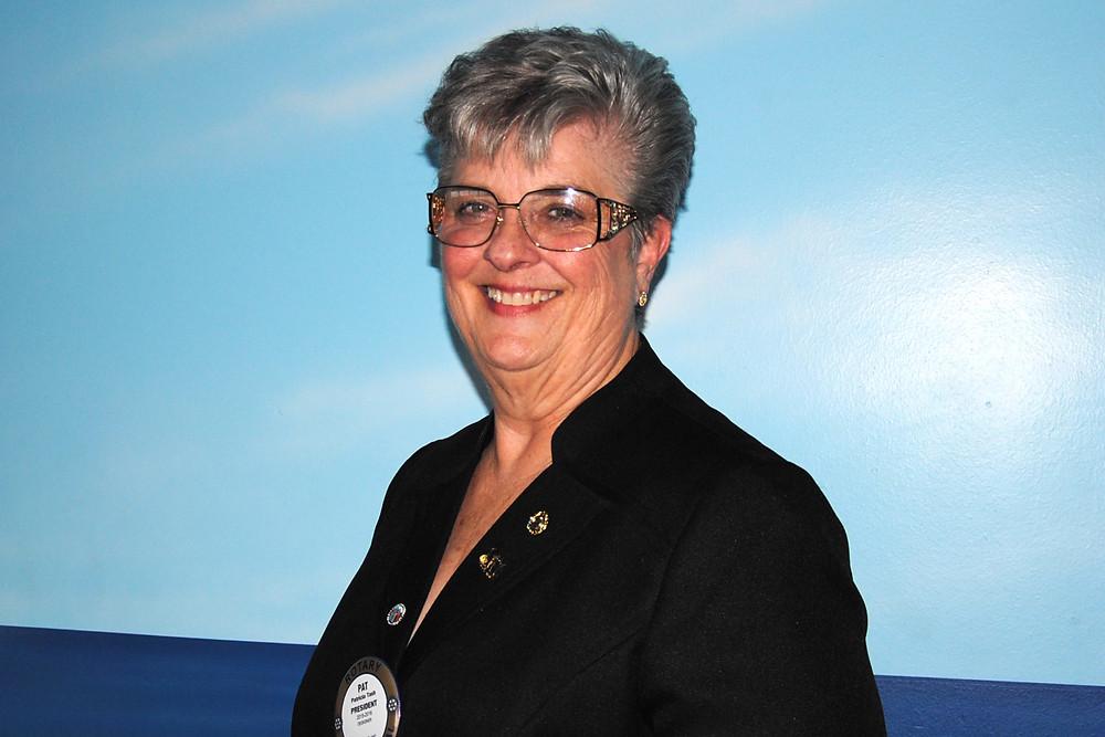 Pat Tash, President Merritt Island Rotary Club