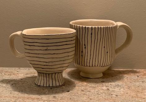 Mugs created on commission
