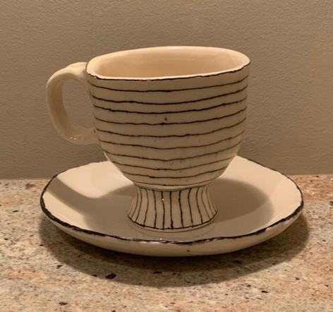 Cup and Saucer-made on commission