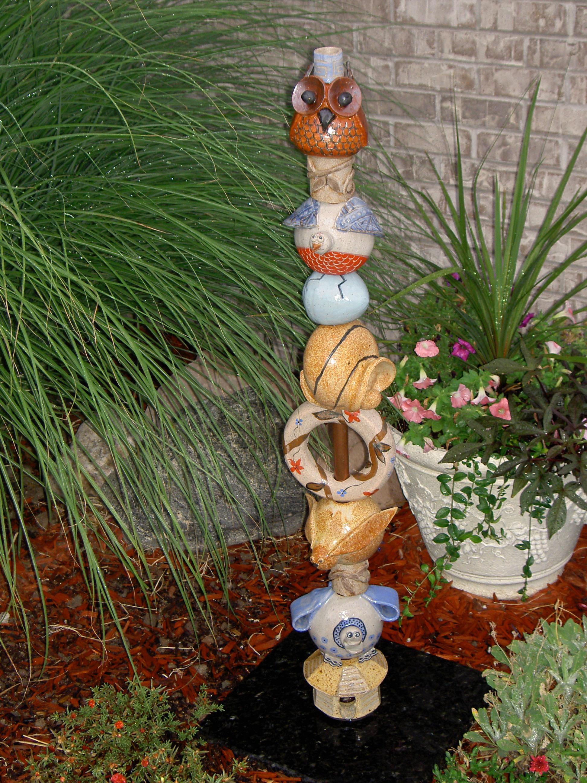 Animal Garden Totem
