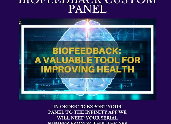 Tonya Kerrin's Biofeedback Custom Panel