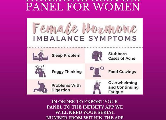 Tonya Kerrin's Hormone Custom Panel for Women