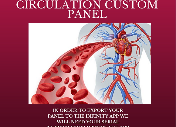 Dr Lou's Heavy Healthy Circulation Custom Panel for Your Quantum iNfinity!