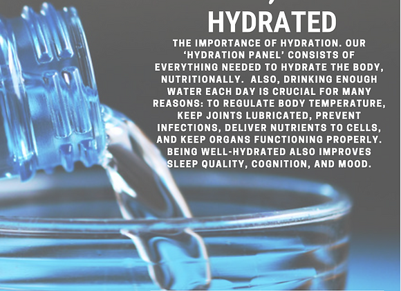 Quantum Hydration Panel