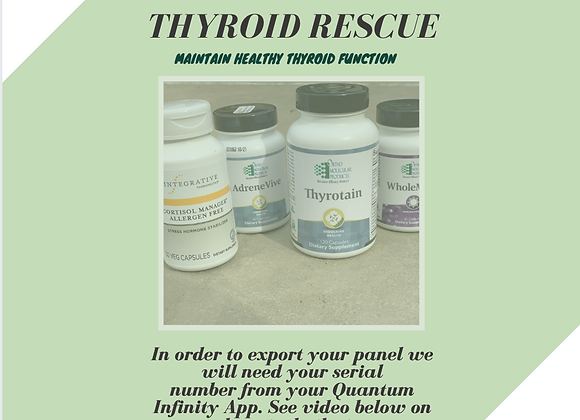 Thyroid Rescue Panel