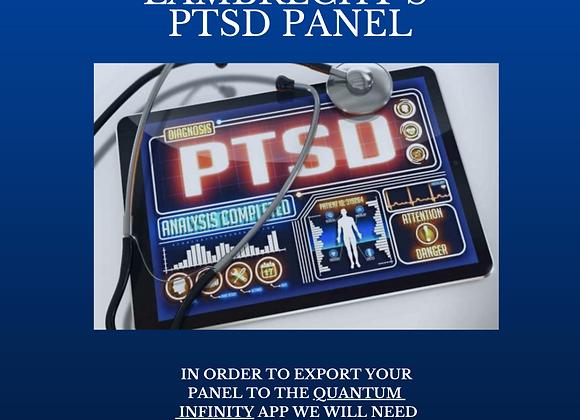 Robin Lambrecht's PTSD Panel